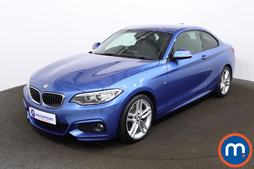 BMW 2 Series 220d [190] M Sport 2dr [Nav] Step Auto - Stock Number 1199329 Passenger side front corner
