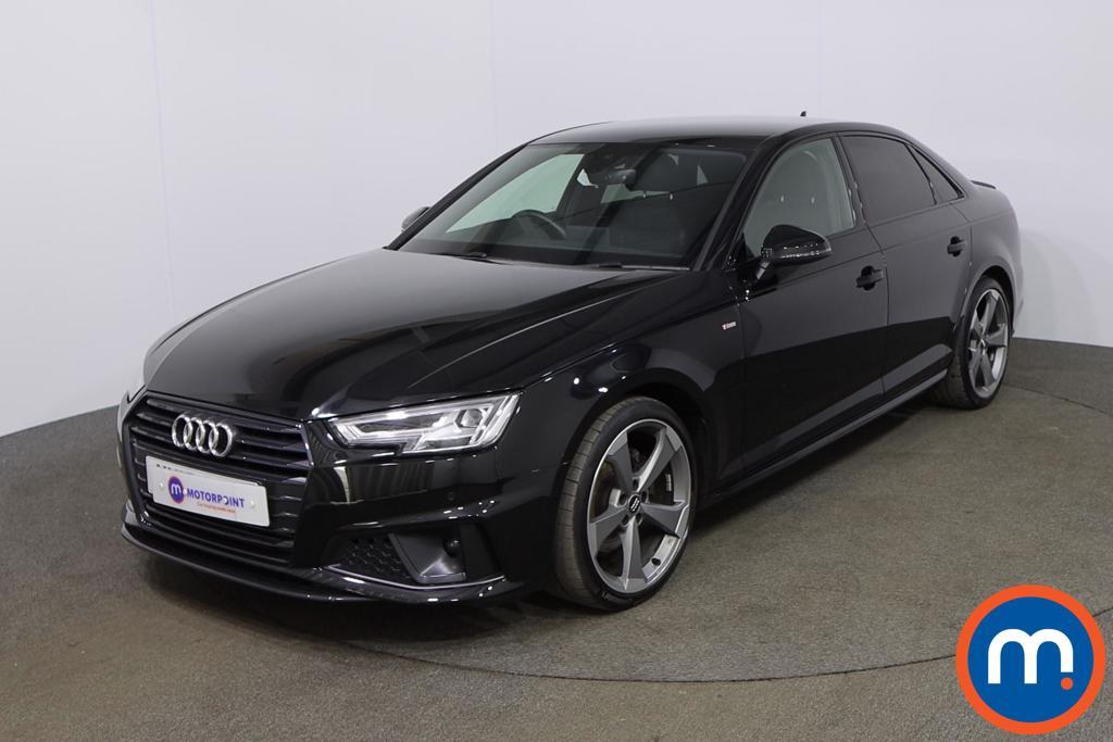 Audi A4 35 TFSI Black Edition 4dr - Stock Number 1199457 Passenger side front corner