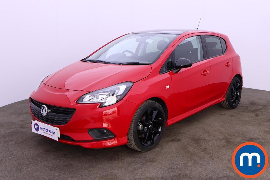 Vauxhall Corsa 1.4 SRi Vx-line Nav Black 5dr - Stock Number 1188581 Passenger side front corner