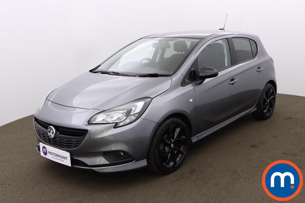 Vauxhall Corsa 1.4 SRi Vx-line Nav Black 5dr - Stock Number 1192783 Passenger side front corner