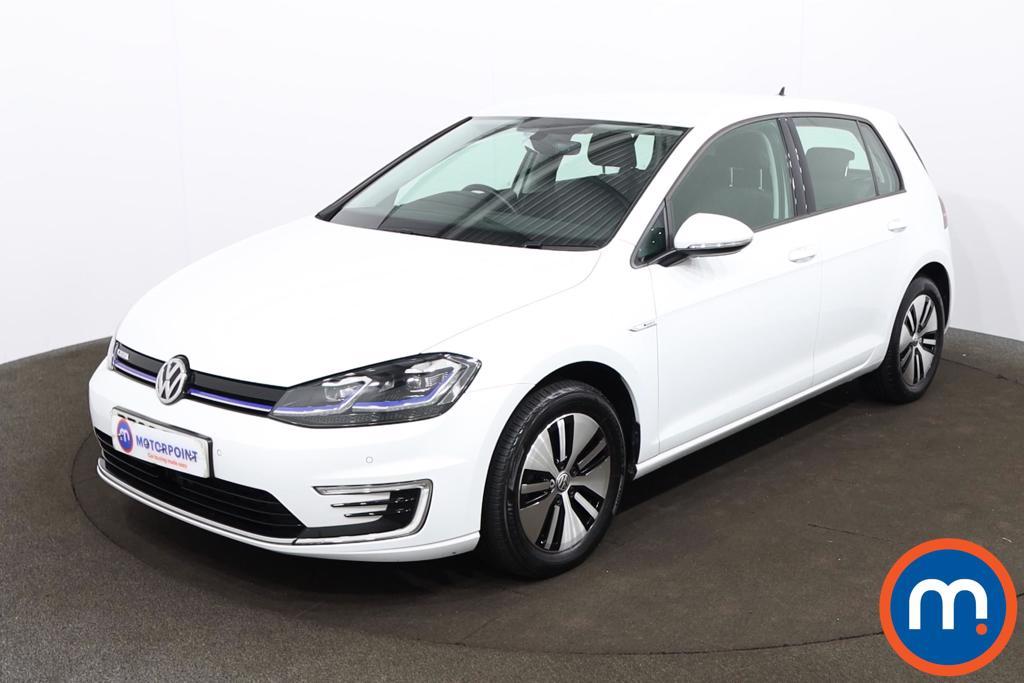 Volkswagen Golf 99kW e-Golf 35kWh 5dr Auto - Stock Number 1200071 Passenger side front corner