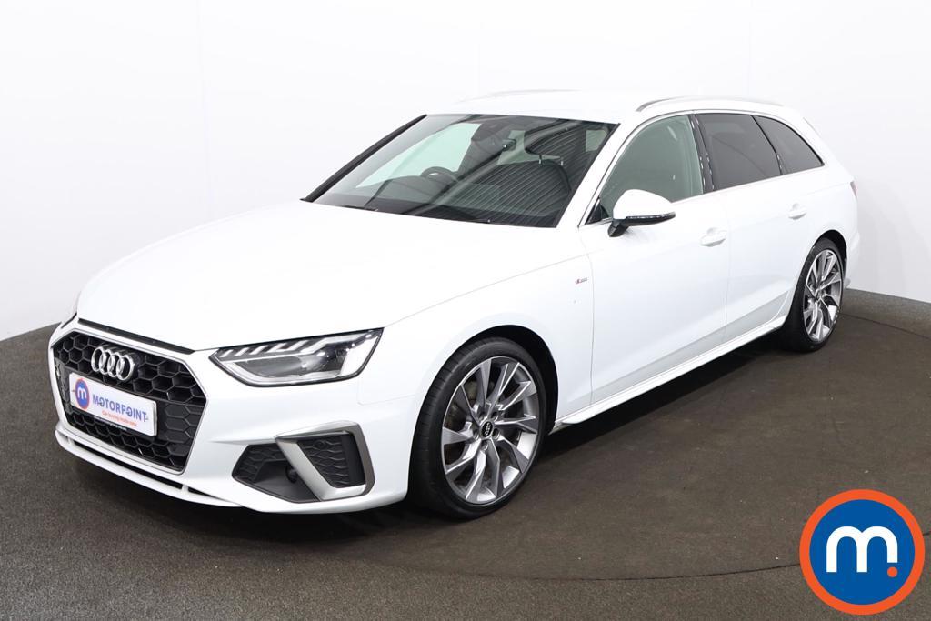 Audi A4 35 TDI S Line 5dr S Tronic - Stock Number 1201355 Passenger side front corner
