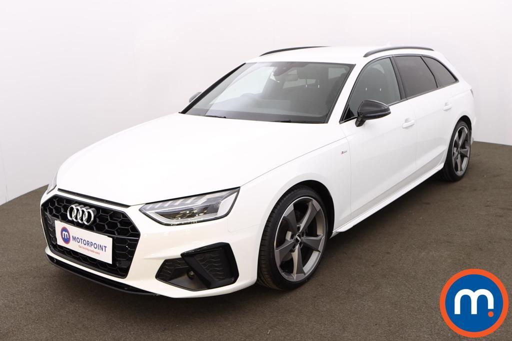 Audi A4 35 TDI Black Edition 5dr S Tronic - Stock Number 1194674 Passenger side front corner