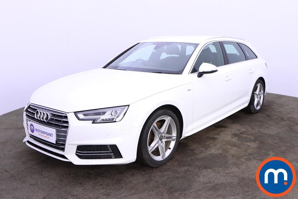 Audi A4 1.4T FSI S Line 5dr [Leather-Alc] - Stock Number 1200995 Passenger side front corner