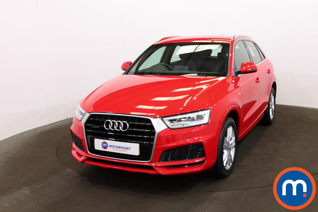 Audi Q3 2.0T FSI Quattro S Line Edition 5dr S Tronic - Stock Number 1199323 Passenger side front corner