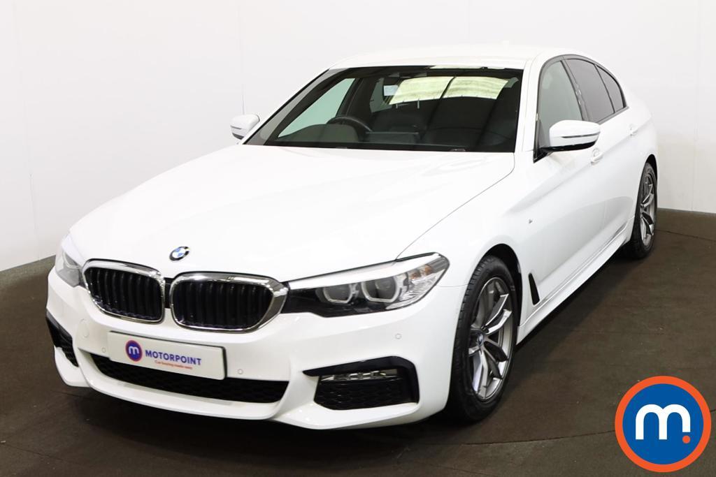 BMW 5 Series 520d M Sport 4dr Auto - Stock Number 1200461 Passenger side front corner