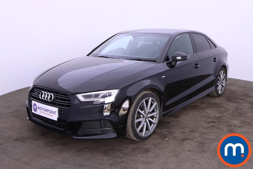 Audi A3 2.0 TFSI Quattro Black Edition 4dr S Tronic - Stock Number 1201030 Passenger side front corner