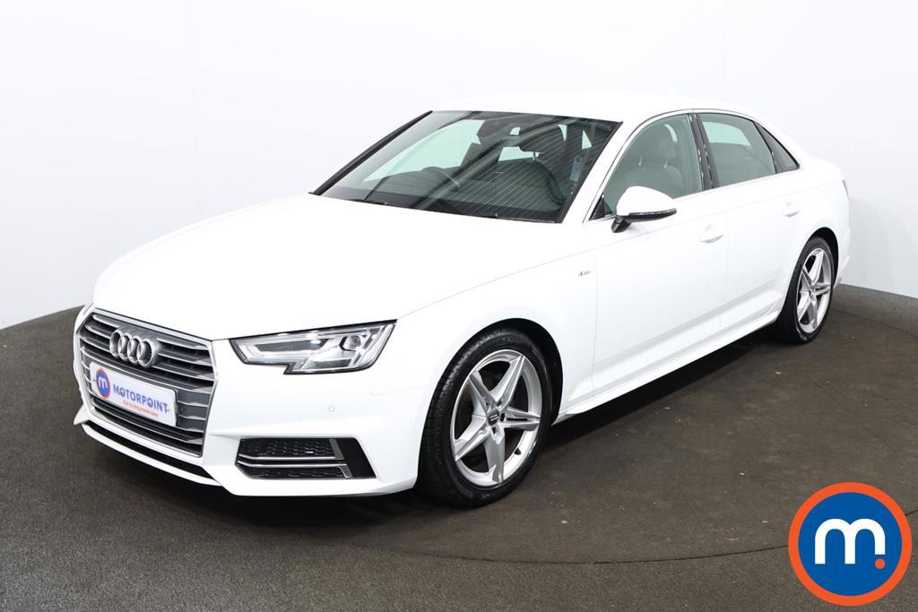 Audi A4 1.4T FSI S Line 4dr [Leather-Alc] - Stock Number 1201063 Passenger side front corner