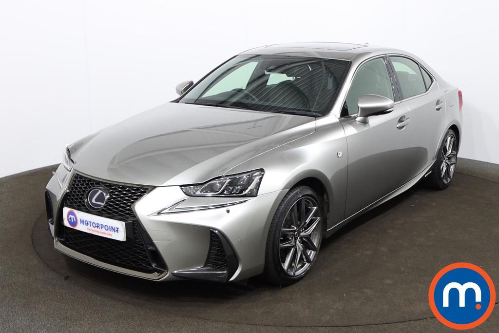 Lexus IS 300h F-Sport 4dr CVT Auto [Navigation] - Stock Number 1201163 Passenger side front corner