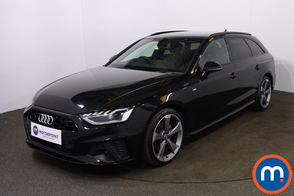 Audi A4 35 TDI Black Edition 5dr S Tronic [Comfort-PlusSound] - Stock Number 1194683 Passenger side front corner