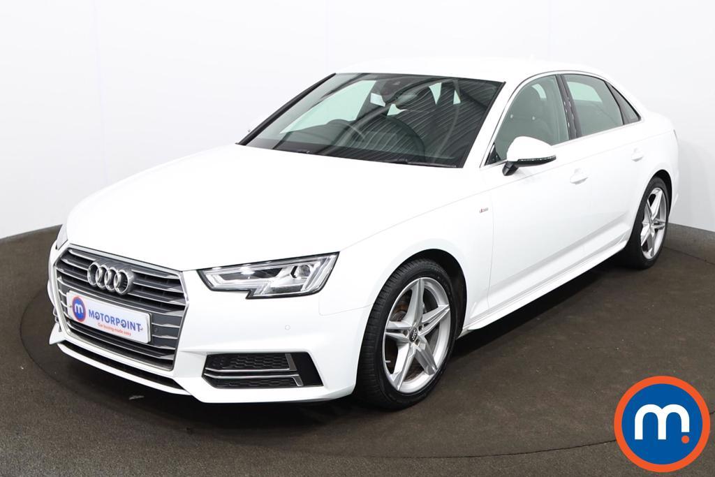 Audi A4 1.4T FSI S Line 4dr [Leather-Alc] - Stock Number 1201064 Passenger side front corner