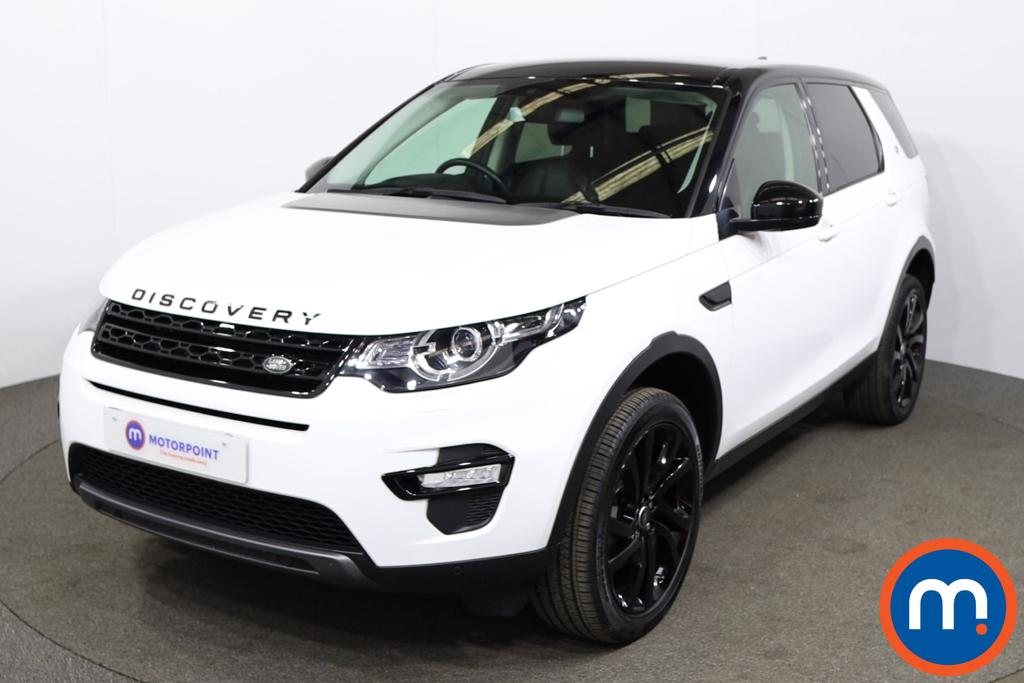 Land Rover Discovery Sport 2.0 TD4 180 HSE Black 5dr Auto - Stock Number 1201126 Passenger side front corner