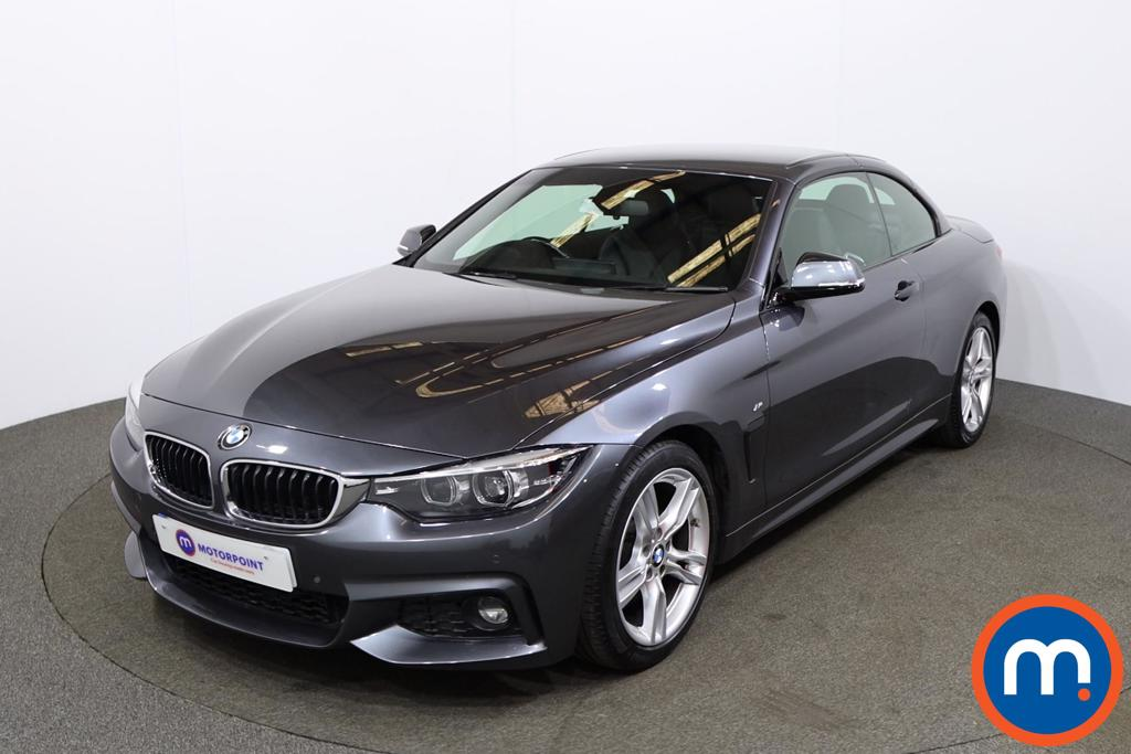 BMW 4 Series 420d [190] M Sport 2dr Auto [Professional Media] - Stock Number 1198178 Passenger side front corner