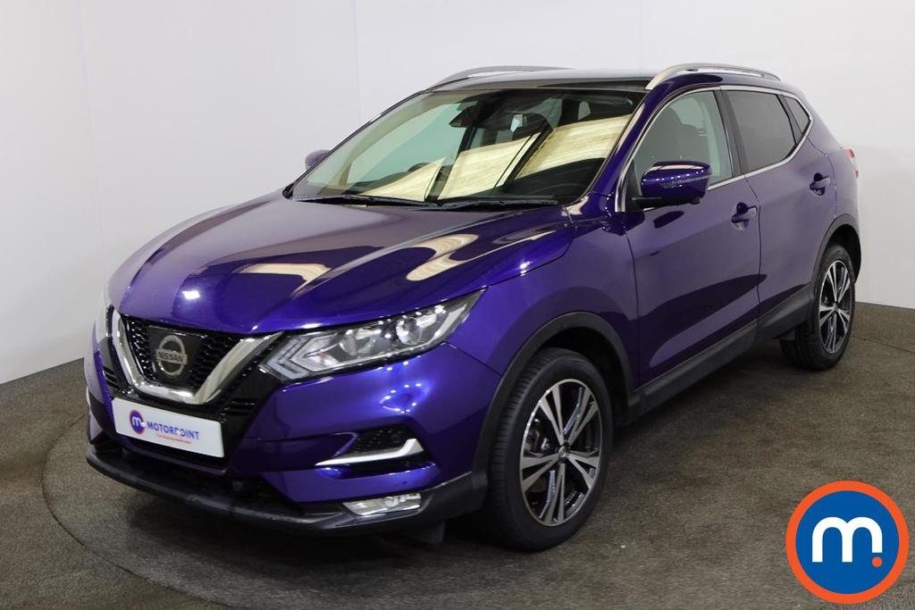 Nissan Qashqai 1.6 dCi N-Connecta [Glass Roof Pack] 5dr Xtronic - Stock Number 1199880 Passenger side front corner