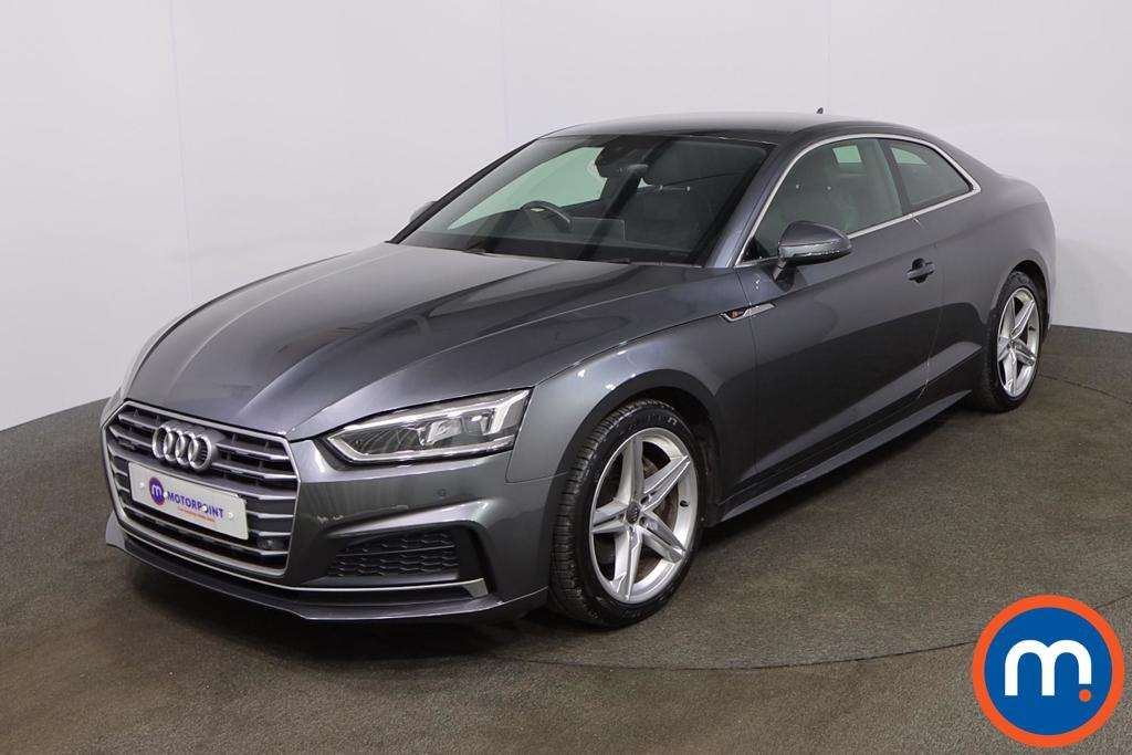 Audi A5 2.0 TDI Quattro S Line 2dr S Tronic [Tech Pack] - Stock Number 1201603 Passenger side front corner