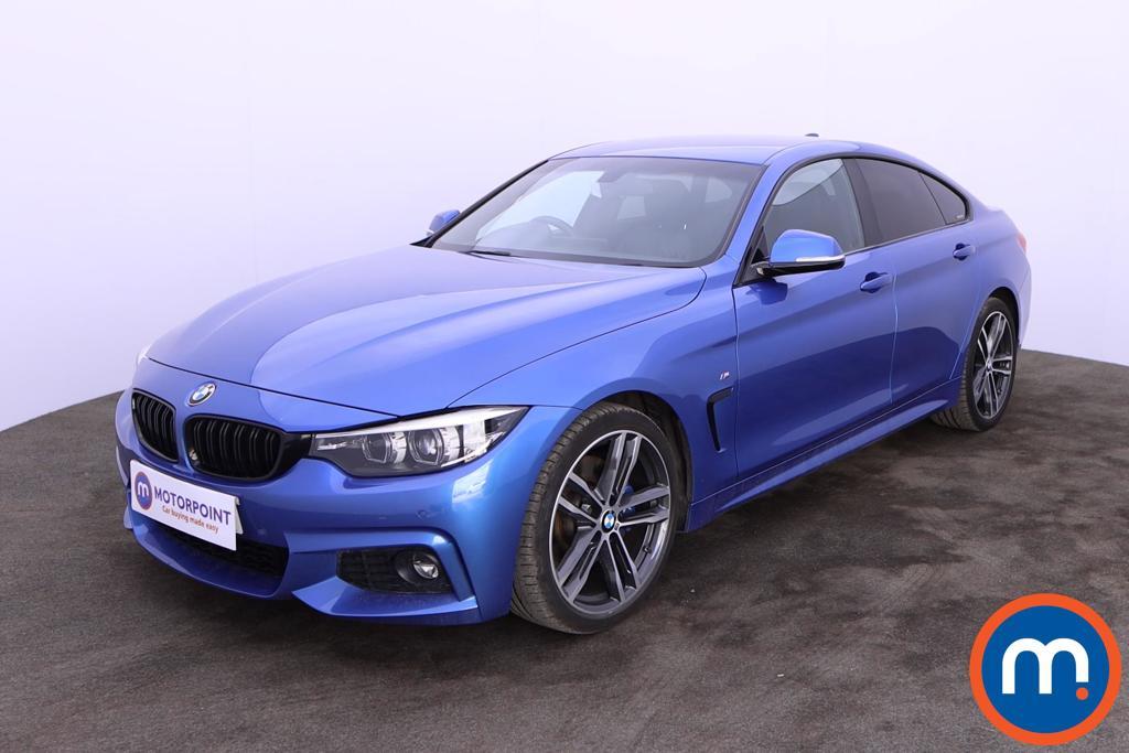 BMW 4 Series 420d [190] M Sport 5dr Auto [Professional Media] - Stock Number 1203057 Passenger side front corner