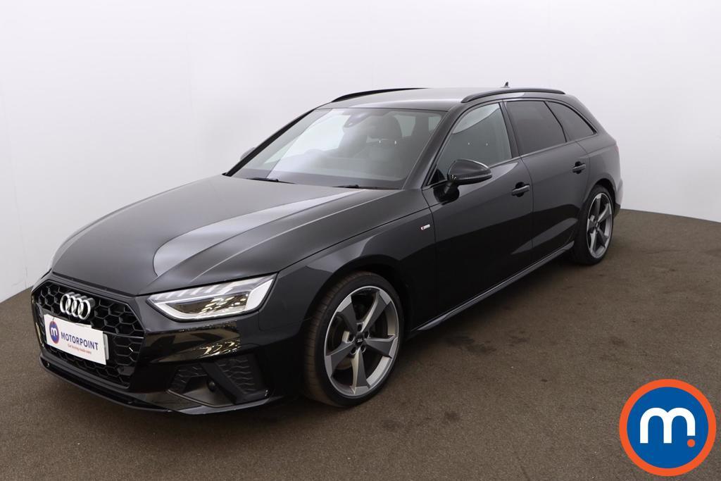 Audi A4 35 TDI Black Edition 5dr S Tronic - Stock Number 1194680 Passenger side front corner