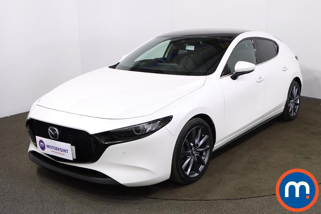 Mazda 3 2.0 Skyactiv G MHEV GT Sport Tech 5dr Auto - Stock Number 1199962 Passenger side front corner