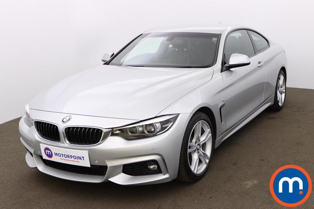 BMW 4 Series 430d M Sport 2dr Auto [Professional Media] - Stock Number 1200459 Passenger side front corner