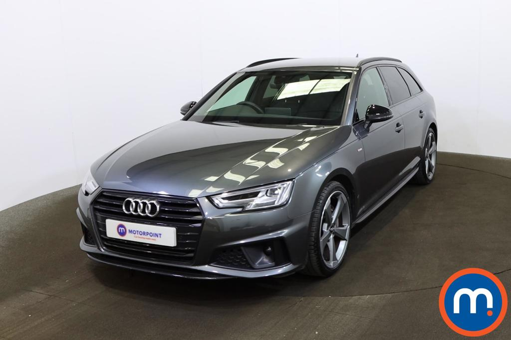 Audi A4 40 TDI Black Edition 5dr S Tronic [Tech Pack] - Stock Number 1200530 Passenger side front corner