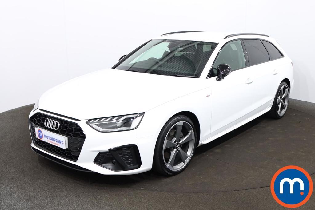 Audi A4 35 TDI Black Edition 5dr S Tronic - Stock Number 1201345 Passenger side front corner