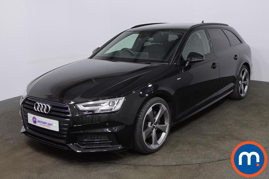 Audi A4 2.0T FSI Black Edition 5dr S Tronic [Tech Pack] - Stock Number 1201649 Passenger side front corner