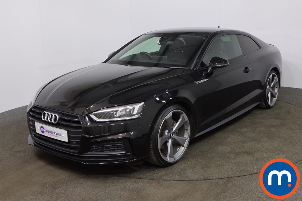 Audi A5 40 TFSI Black Edition 2dr S Tronic [Tech Pack] - Stock Number 1201735 Passenger side front corner