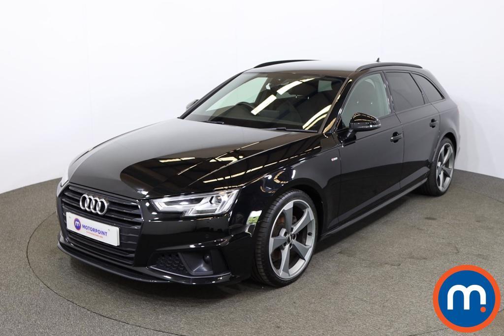 Audi A4 40 TFSI Black Edition 5dr S Tronic - Stock Number 1201742 Passenger side front corner