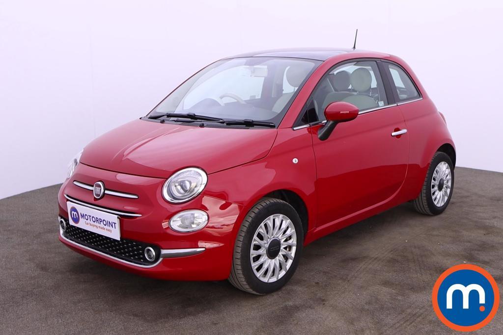 Fiat 500 1.2 Lounge 3dr - Stock Number 1202444 Passenger side front corner