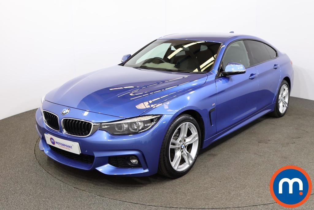 BMW 4 Series 420d [190] M Sport 5dr [Professional Media] - Stock Number 1203186 Passenger side front corner