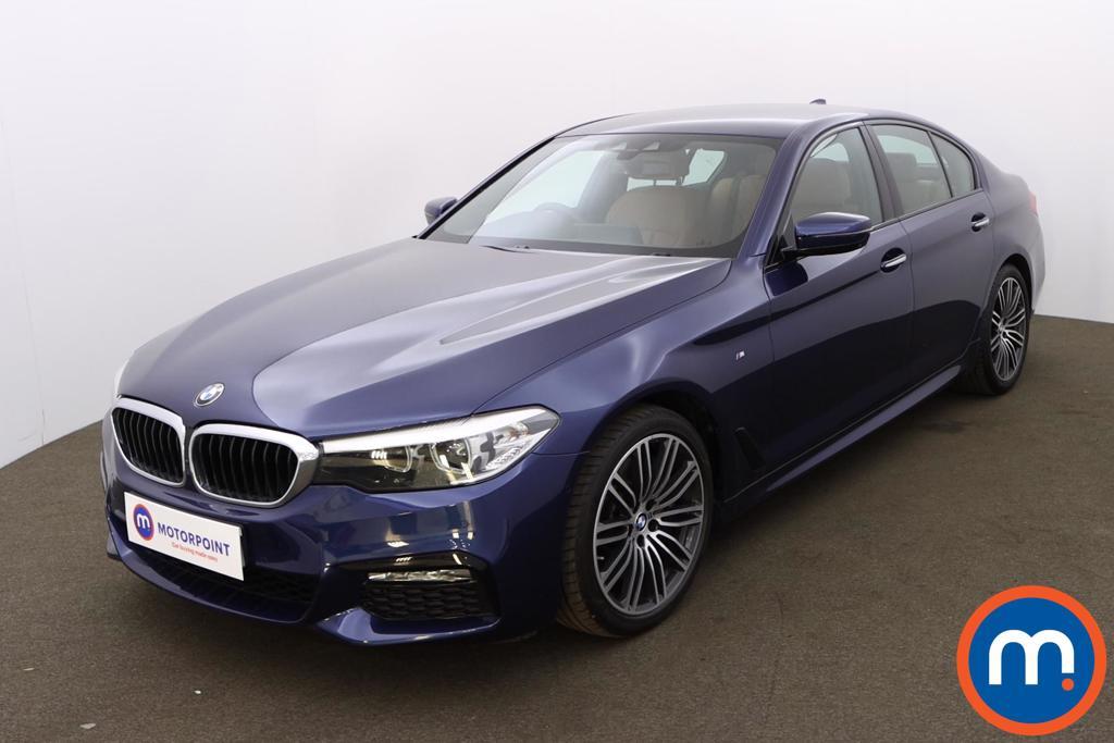 BMW 5 Series 540i xDrive M Sport 4dr Auto - Stock Number 1195817 Passenger side front corner