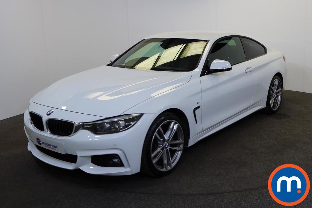 BMW 4 Series 420d [190] M Sport 2dr Auto [Professional Media] - Stock Number 1201055 Passenger side front corner