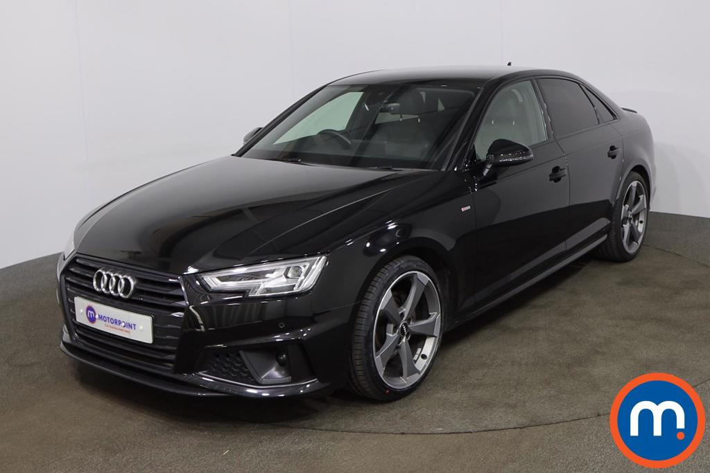 Audi A4 40 TFSI Black Edition 4dr S Tronic [Tech Pack] - Stock Number 1201736 Passenger side front corner