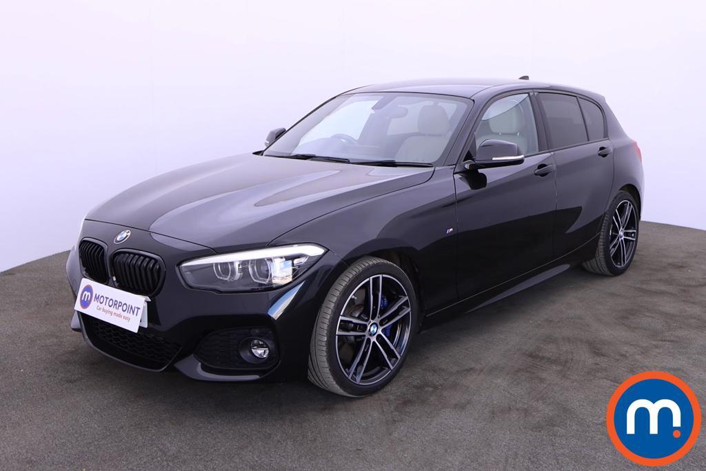 BMW 1 Series 120d M Sport Shadow Ed 5dr Step Auto - Stock Number 1204588 Passenger side front corner