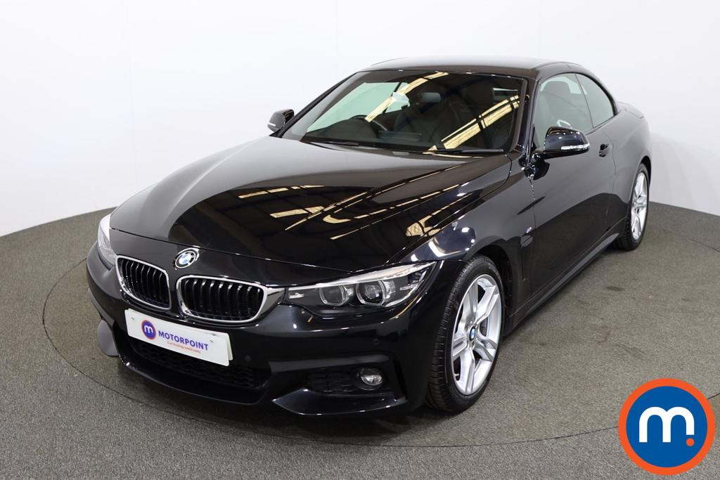 BMW 4 Series 420d [190] M Sport 2dr Auto [Professional Media] - Stock Number 1200538 Passenger side front corner