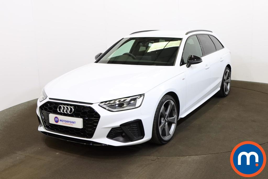 Audi A4 35 TDI Black Edition 5dr S Tronic - Stock Number 1201344 Passenger side front corner