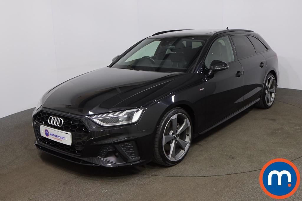 Audi A4 35 TFSI Black Edition 5dr S Tronic - Stock Number 1203154 Passenger side front corner