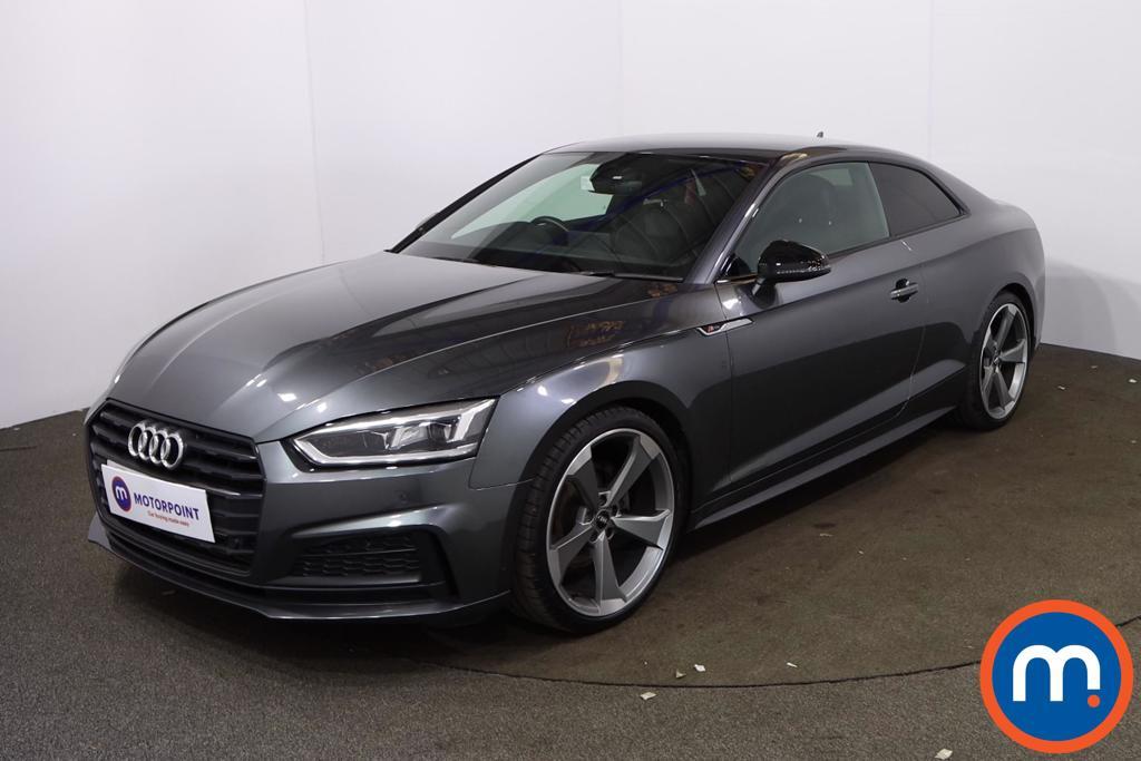Audi A5 40 TFSI Black Edition 2dr S Tronic - Stock Number 1199425 Passenger side front corner