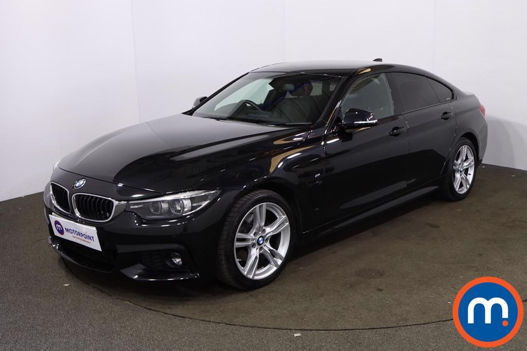 BMW 4 Series 420d [190] M Sport 5dr Auto [Professional Media] - Stock Number 1201595 Passenger side front corner