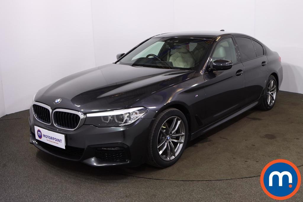 BMW 5 Series 520d M Sport 4dr Auto - Stock Number 1201596 Passenger side front corner