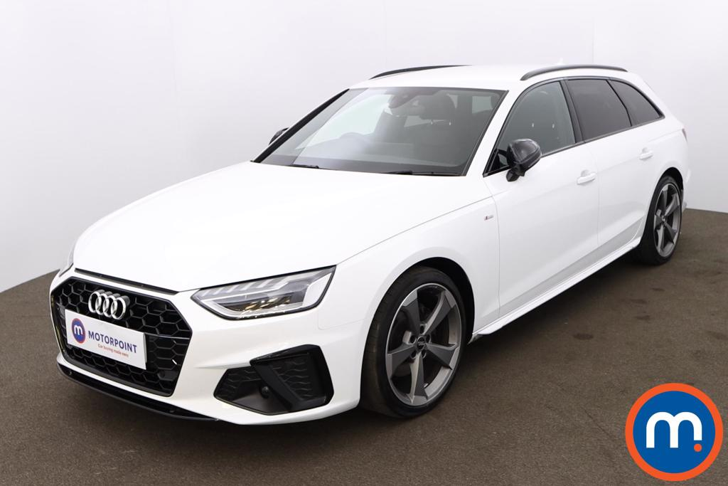 Audi A4 35 TDI Black Edition 5dr S Tronic - Stock Number 1202162 Passenger side front corner
