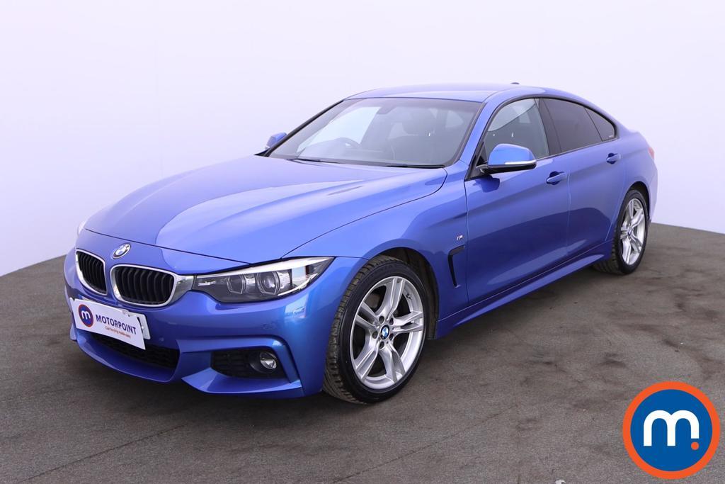 BMW 4 Series 420d [190] M Sport 5dr [Professional Media] - Stock Number 1203082 Passenger side front corner