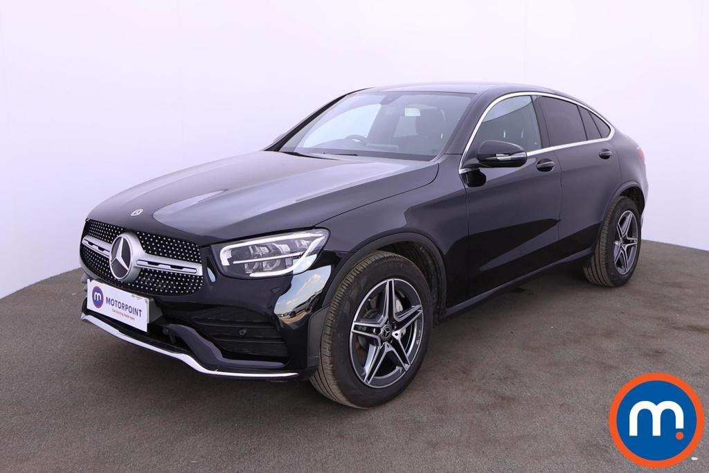 Mercedes-Benz Glc Coupe GLC 220d 4Matic AMG Line 5dr 9G-Tronic - Stock Number 1203937 Passenger side front corner