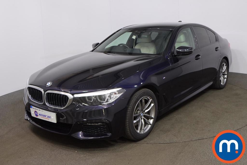 BMW 5 Series 520d M Sport 4dr Auto - Stock Number 1204891 Passenger side front corner