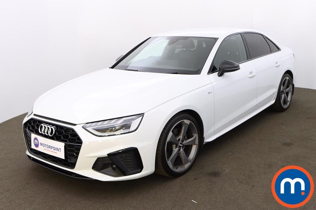 Audi A4 35 TFSI Black Edition 4dr - Stock Number 1180001 Passenger side front corner
