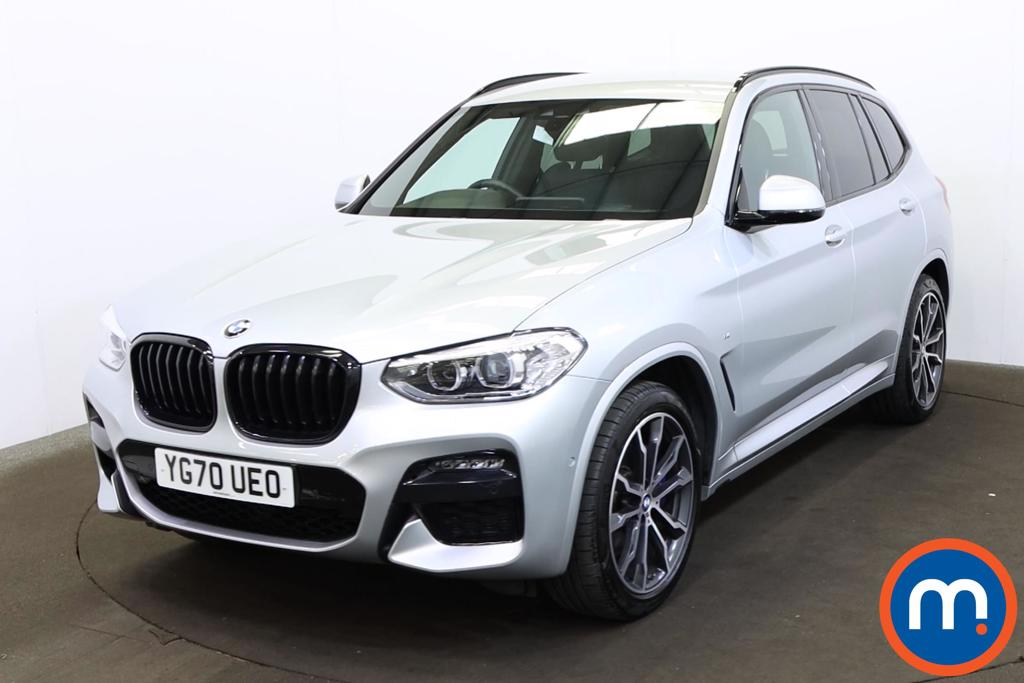 BMW X3 xDrive20i M Sport 5dr Step Auto [Plus Pack] - Stock Number 1203239 Passenger side front corner