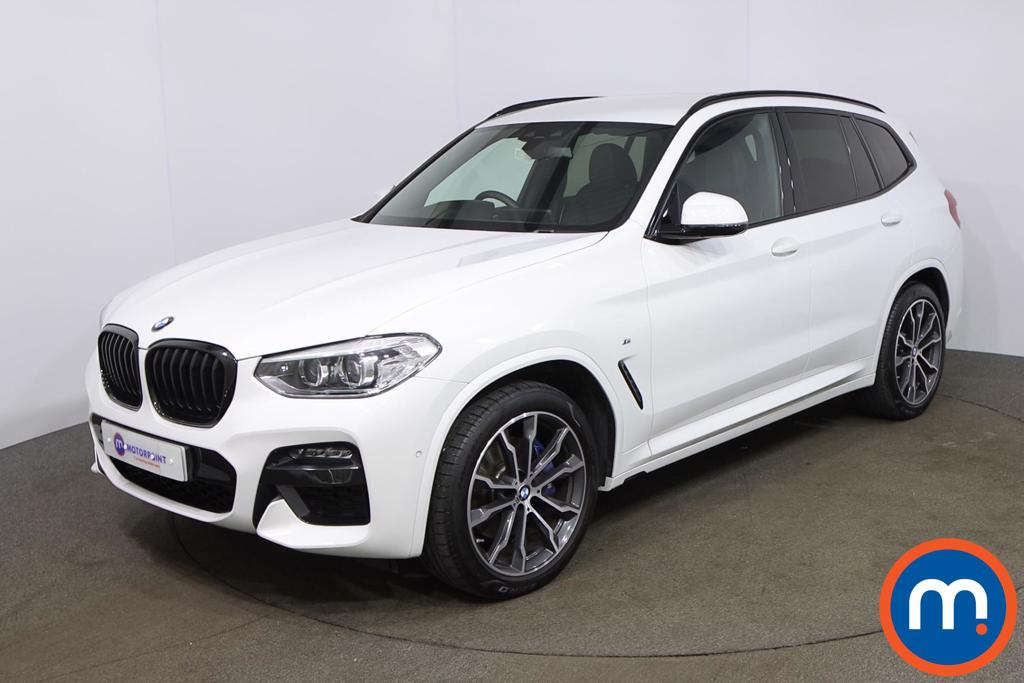 BMW X3 xDrive20i M Sport 5dr Step Auto [Plus Pack] - Stock Number 1203241 Passenger side front corner