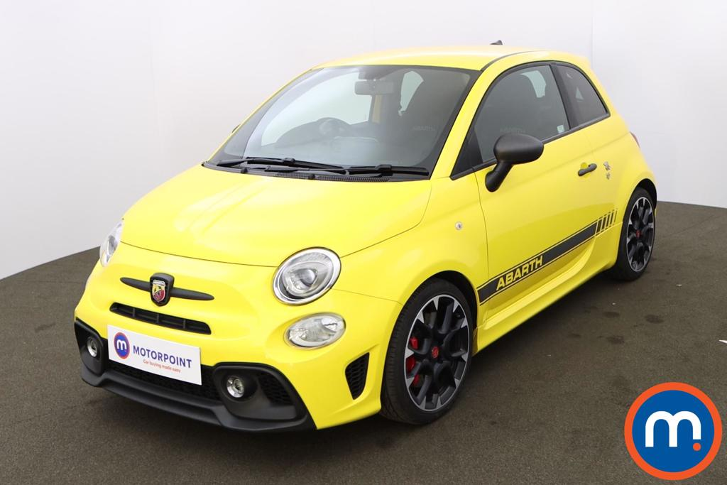 Abarth 595 1.4 T-Jet 180 Competizione 3dr - Stock Number 1203305 Passenger side front corner
