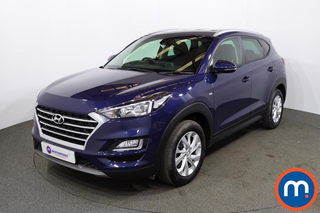 Hyundai Tucson 1.6 CRDi 48V MHD SE Nav 5dr 2WD - Stock Number 1204863 Passenger side front corner