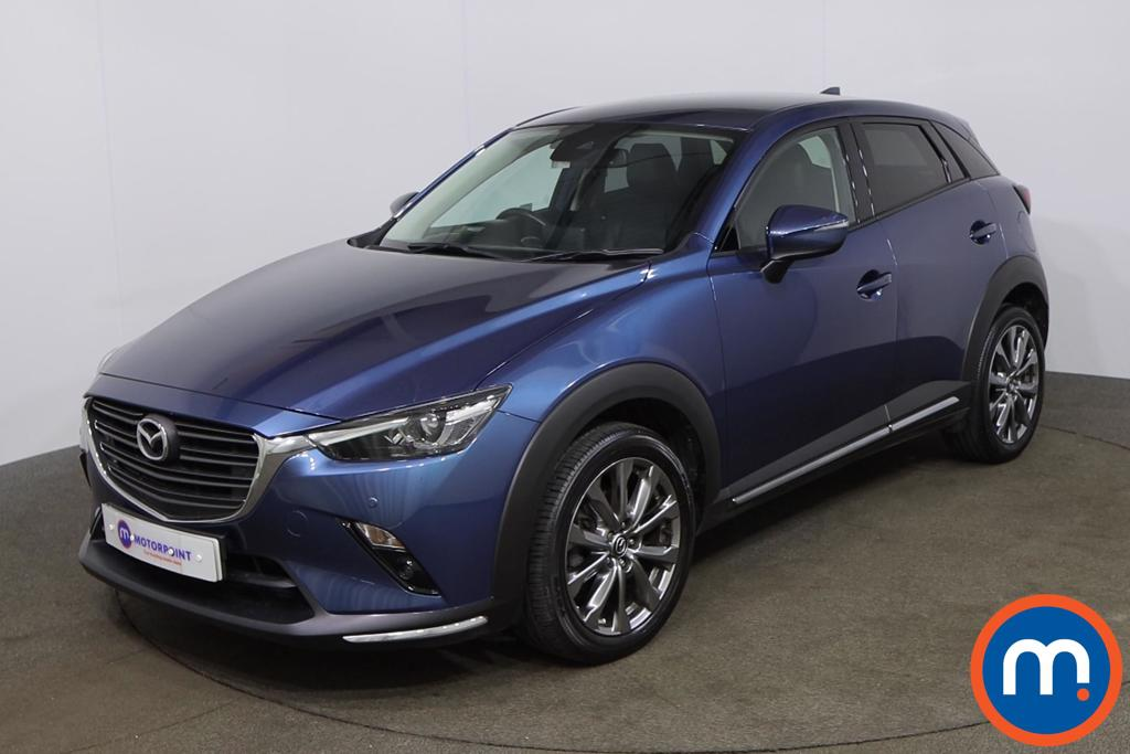Mazda Cx-3 2.0 Sport Nav -Plus 5dr - Stock Number 1205002 Passenger side front corner